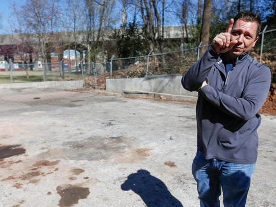 STD Central Flea Market owner Shawn Gott talks about plans to modify parts of the building into an event venue in this 2016 file photo. Gott said on Jan. 15, 2020 that he is closing the Central flea market due to nearby construction, but hopes to reopen it in two years.