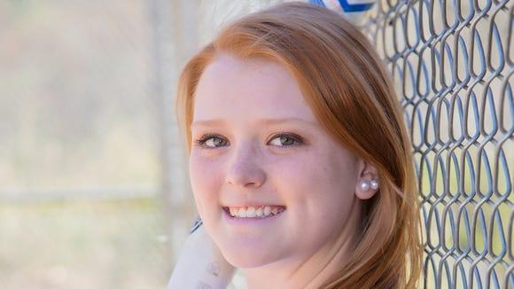 Robbinsville rising senior Lauren McGuire.