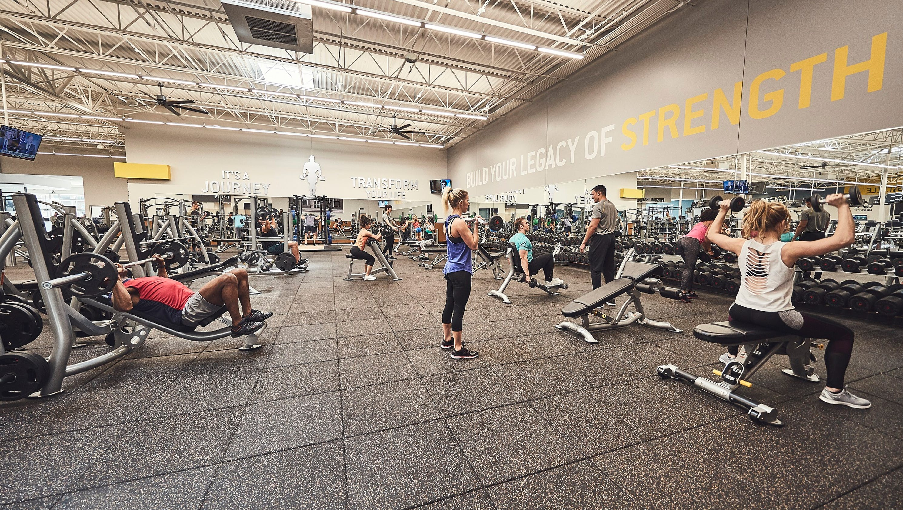 Gold's Gym adds two new locations in Greenville area
