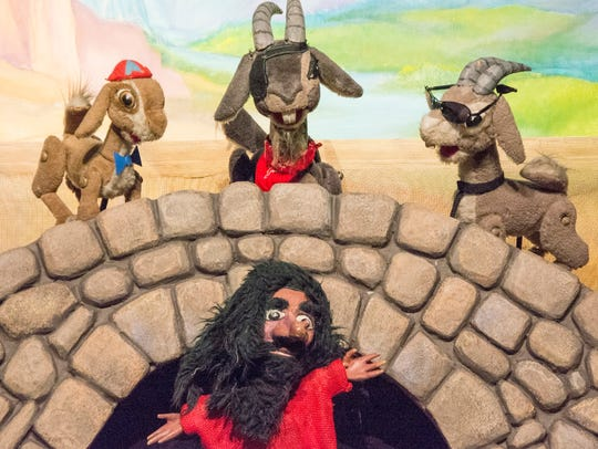 Great Arizona Puppet Theater 's shows involve the audience,
