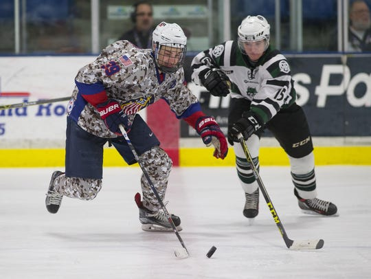 Maintaining a step edge on Cedar Rapids player John