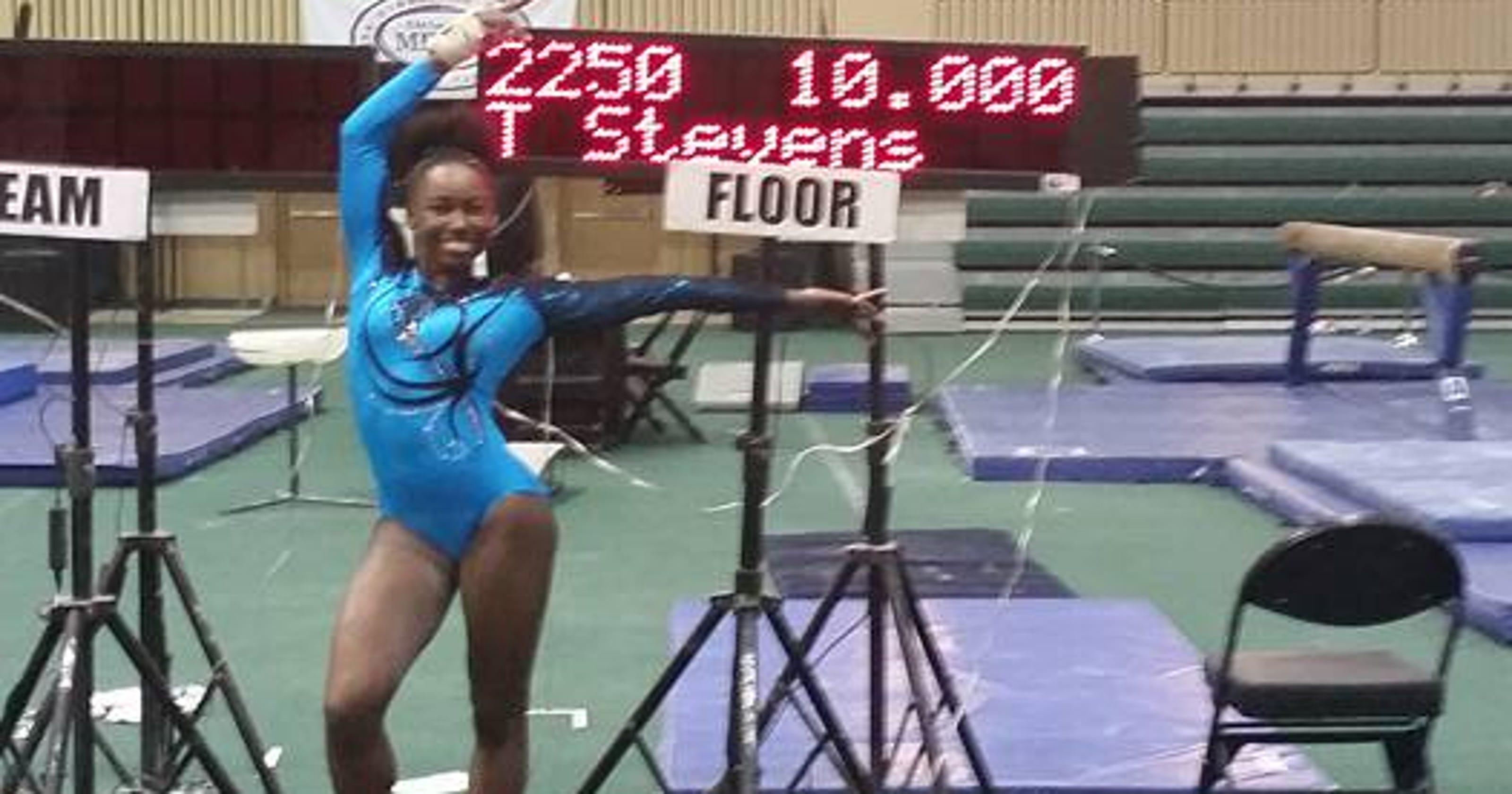 Gymnast Earns Perfect 10 At Orlando Meet