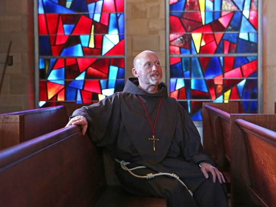 Father Wil Tyrrell, the chaplain at Manhattanville