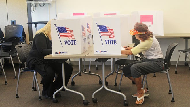The Johnson County Auditor's Office is already seeing some enthusiasm from early voters.