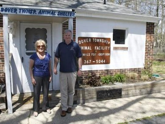 JoAnn Benson (l) is Director of Toms River's Division