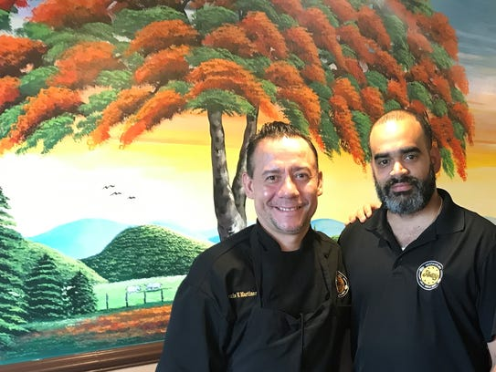 Chef Alexis Martinez and owner Ramon Ortiz share the