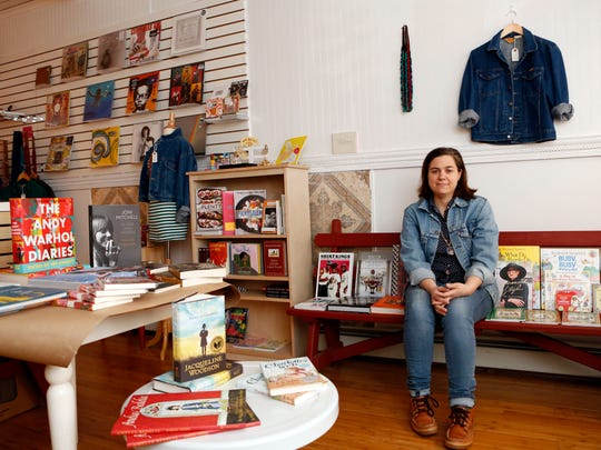 """Singer-songwriter Jennifer O'Connor just opened The Kiam Records Shop in Nyack. Record stores, she says, are """"a place to hang out, which is what I want this to become."""""""