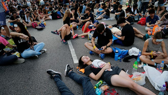 The Hong Kong demonstrations could affect the global economy if they escalate.