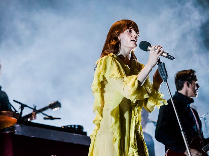 Florence and The Machine performs on the Main Stage
