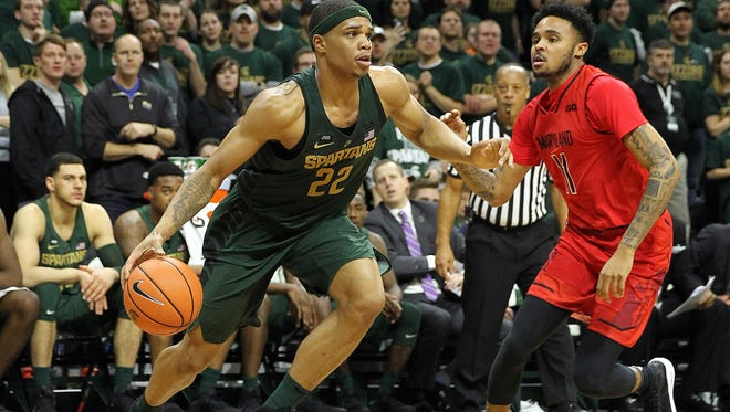 Miles Bridges is averaging 25.7 points over MSU's last three games. He had 15 in a 30-point win over Maryland on Jan. 4.