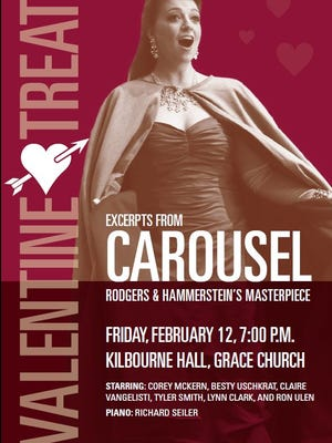 """""""Carousel"""" by Louisiana Opera is Feb. 12 at Kilbourne Hall at Grace Episcopal Church."""