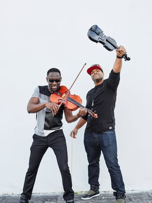 Classically trained violist and violinist Wil B. and Kev Marcus make up Black Violin, a multi-genre band that will headline a concert at Six Bends Harley-Davidson in Fort Myers.