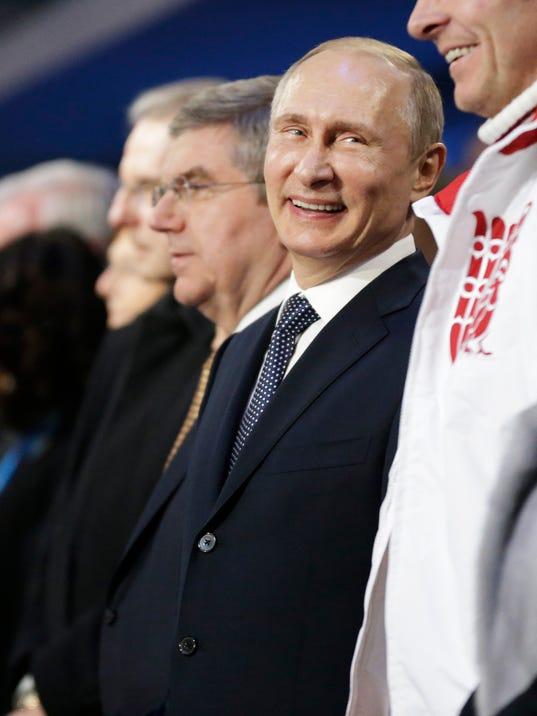 AP SOCHI OLYMPICS CLOSING CEREMONY S OLY RUS