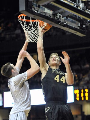 The 2015-16 non-conference schedule for Purdue and center Isaac Haas includes a rematch with Vanderbilt and Luke Kornet.