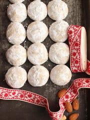 Honey nut cookies.
