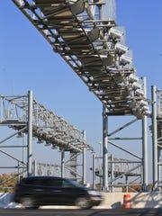 The RiverLink transponder cameras are set up above