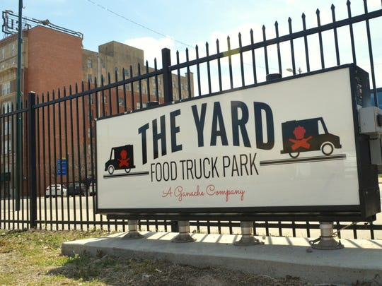 Food truck park The Yard, A Ganache Company, is set to open on St. Patrick's Day 2017 in downtown Wichita Falls. City restaurateur Amber Schacter made the decision a little more than a month ago to reopen The Yard as another option for people in the downtown area.