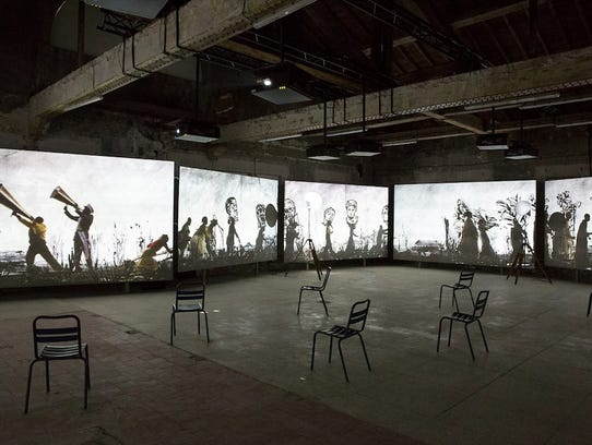 Created by South African artist William Kentridge,