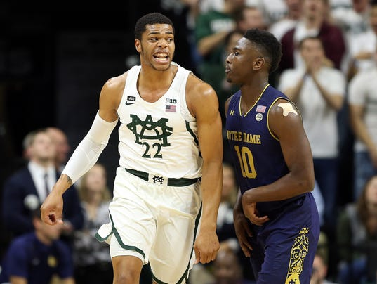 NCAA Basketball: Notre Dame at Michigan State