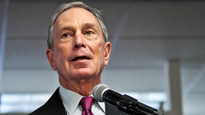 Michael Bloomberg's new gun-control group is endorsing candidates and running ads in the hope of making gun control a pivot issue in federal and state races this year.