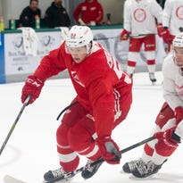 Red Wings prospect Cholowski grows with the flow