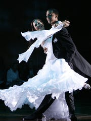 Rene Dell'Acqua and Joshua King dance at the 2011 Dancing