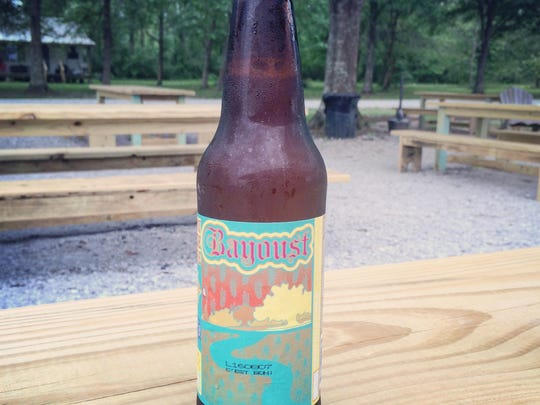 Bayou Teche Brewing's limited edition Bayoust beer can be tasted during Festival International.