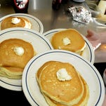 Get free pancakes and raise money for Sparrow Children's Hospital.