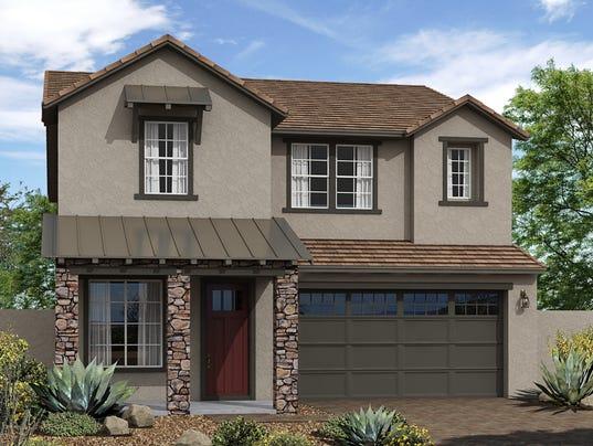 Two Home Designs, Neighborhood Debut At Vistancia