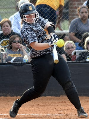Hendersonville High senior Annsley Kalamon returns as the Lady Commandos' biggest power threat in the lineup.