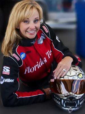 Elaine Larsen and her husband, Chris, co-founded and operate Larsen Motorsports, a multi-team national professional organization specializing in turbine-powered high performance vehicles
