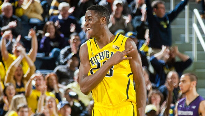 Michigan guard Caris LeVert