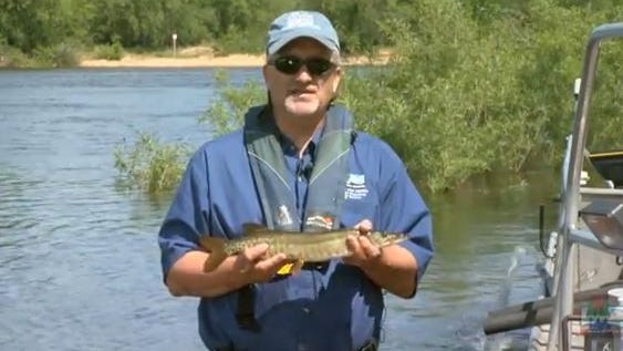 DNR Ichthyologist John Lyons offers lessons on a variety of fish species in Wisconsin.