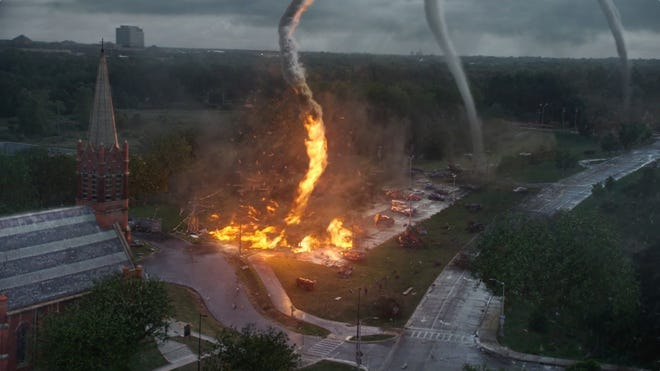 """The special effects steal the show in the new movie """"Into the Storm."""""""