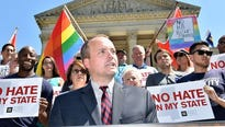 The measure drew criticism nationwide as supporting discrimination against gay people and others in the name of religion.