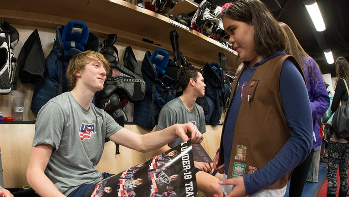 York natives see sacrifices pay off as their son gets drafted by NHL's Colorado Avalanche