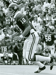 Owosso native Brad Van Pelt was a two-time All-American