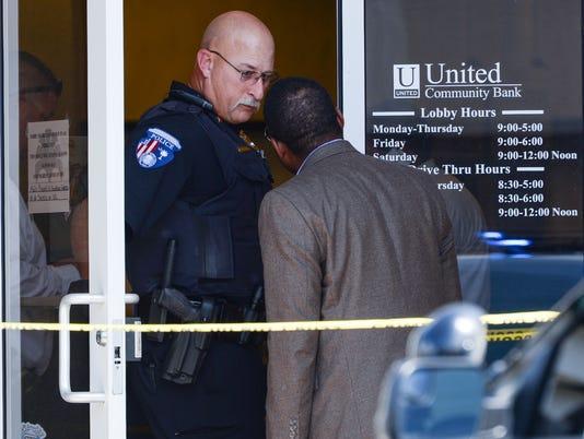 Pendleton bank robbery