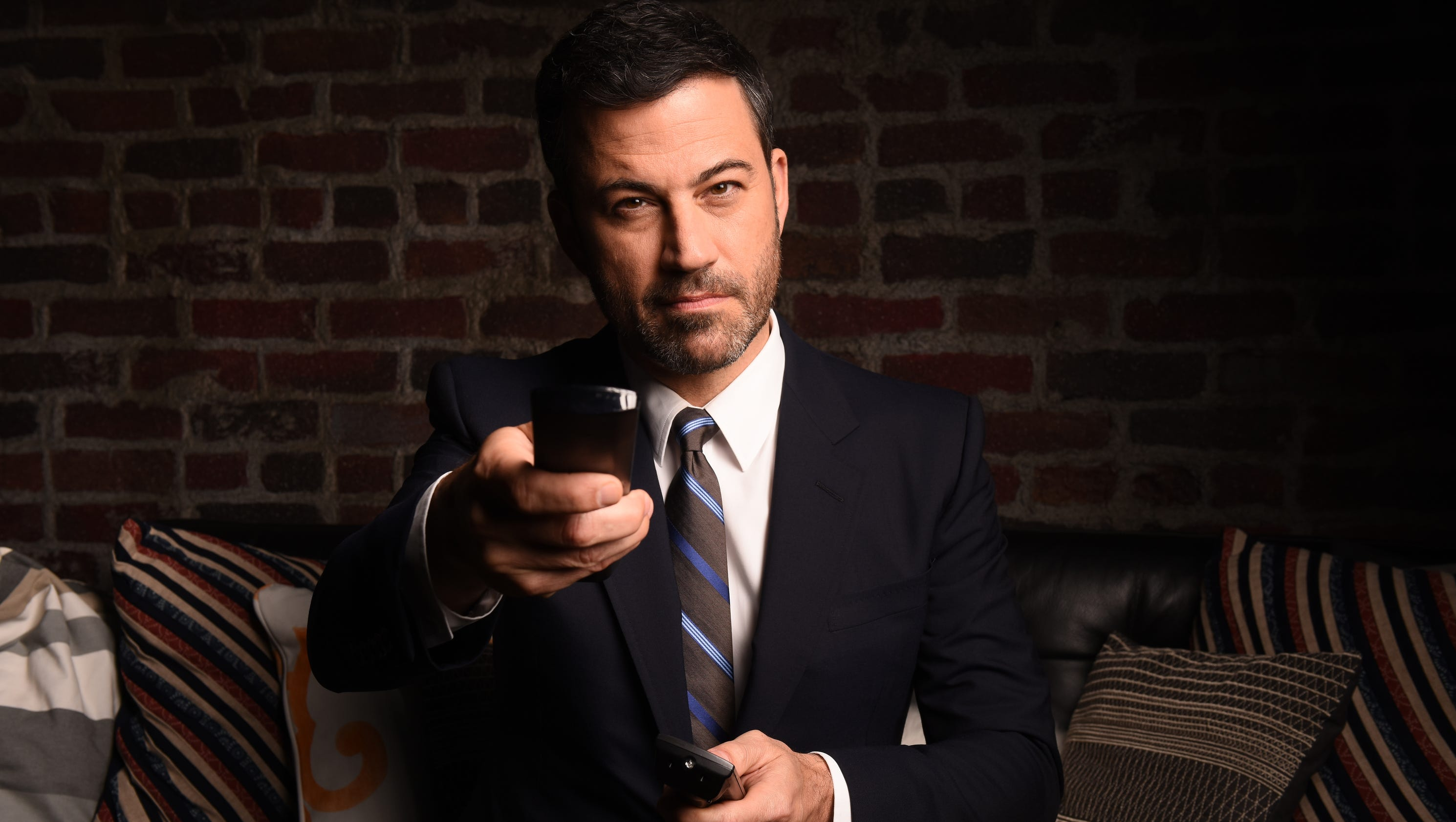 Q Amp A How Mean Can Emmy Host Jimmy Kimmel Be