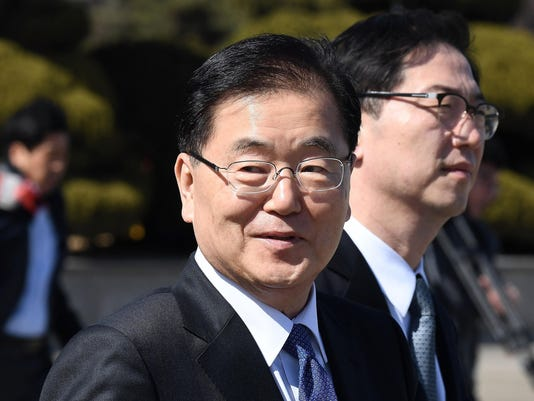 South Korean Envoy Departs For North To Discuss Resumption Of Dialogue
