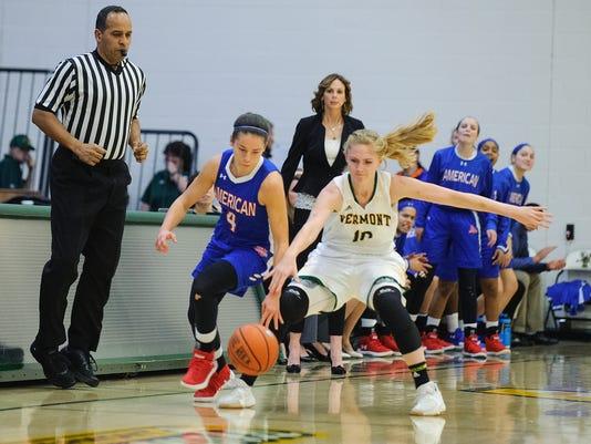 American vs. Vermont Women's Basketball 11/24/17