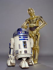 """C‐3POfrom """"Star Wars™: The Empire Strikes Back"""" and """"R2‐D2 Star Wars: A New Hope."""""""