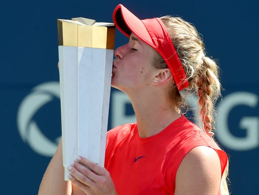 USP TENNIS: ROGERS CUP S TEN CAN ON