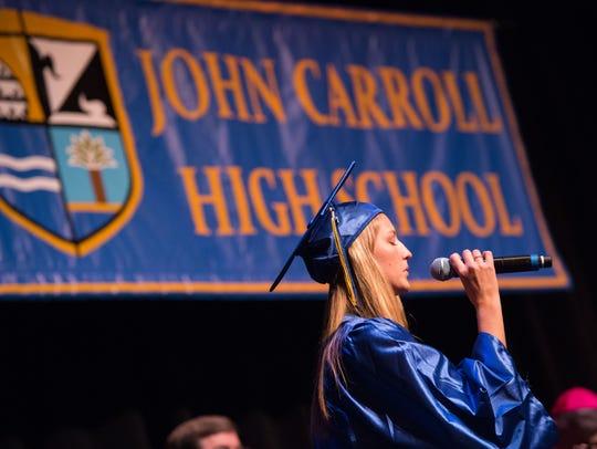 The John Carroll Catholic High School class of 2018