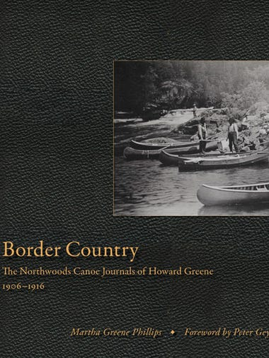 "Martha Greene Phillips' book, ""Border Country: The"