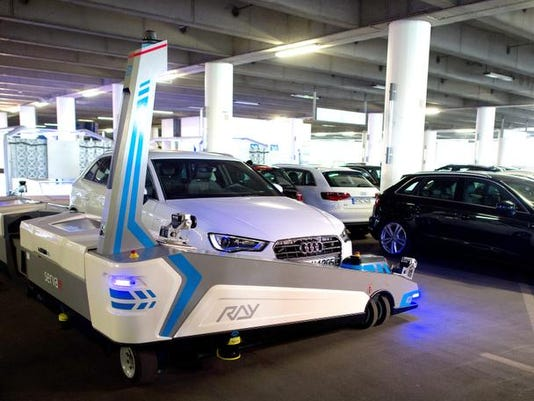 Germany Parking Robot