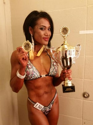 Figure competitor Desiree Reel finished third in her division at the recent 2015 Ikaika Bodybuilding Championships, which qualified her to compete in national events for a chance at a pro card.