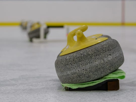 The Palmetto Curling Club host their weekly curling