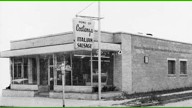 Costanza's on Clifford Avenue, circa the late 1950s or early 1960s. The store was later taken over by Peter Costanza for catering.