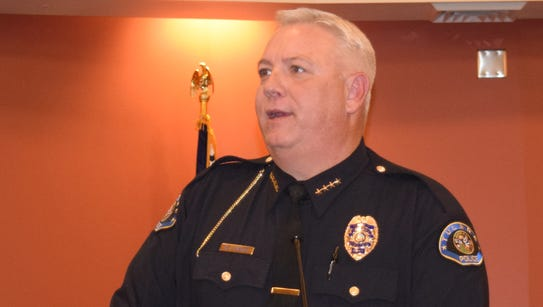 Tulare Police Chief Wes Hensley